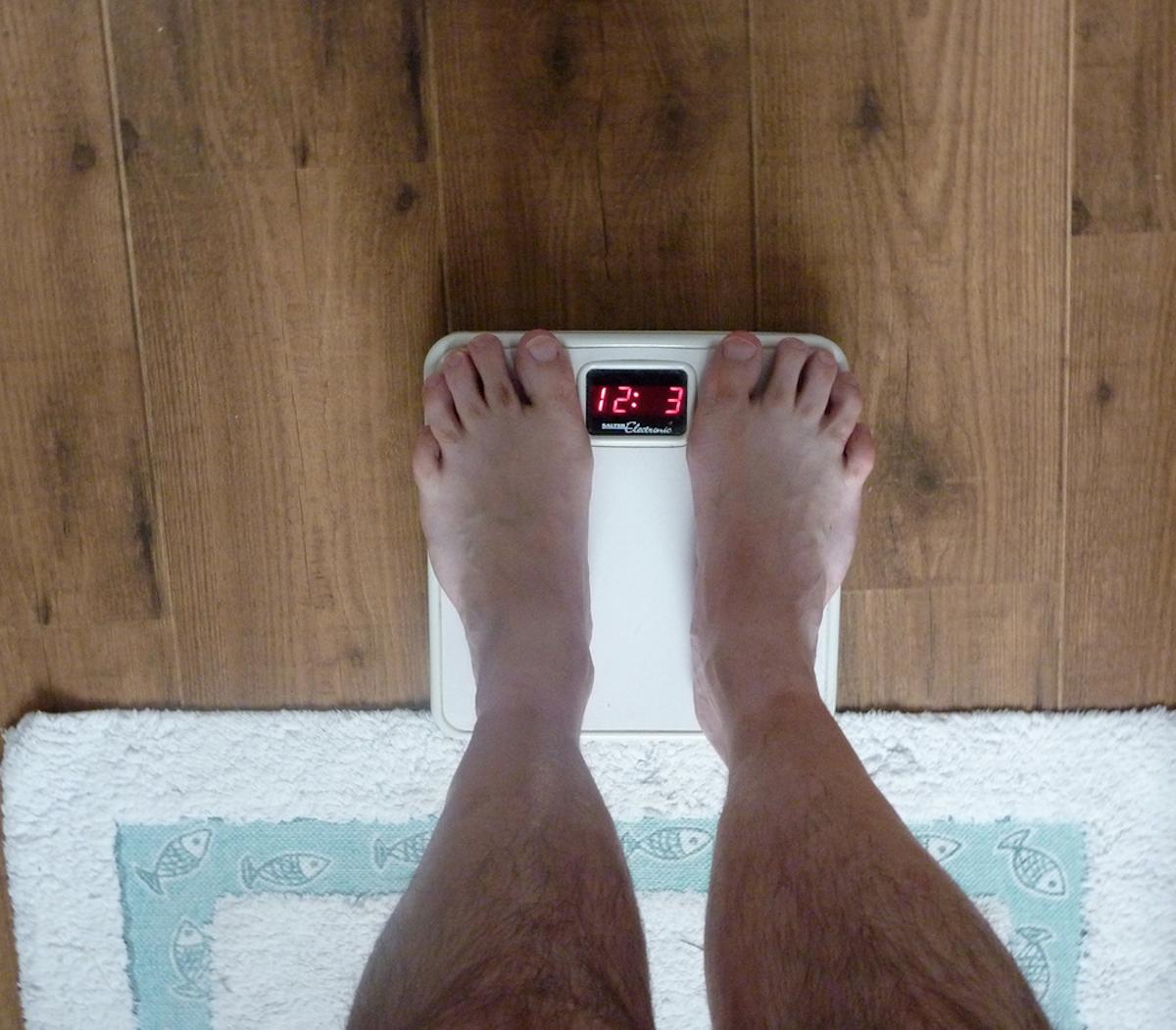 Kampf zur Gewichtsreduktion