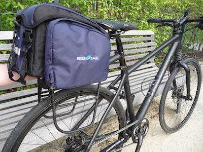 Klickfix Träger und Tasche in der Kompaktvariante