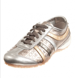 Geox Sneaker Gold & Silber