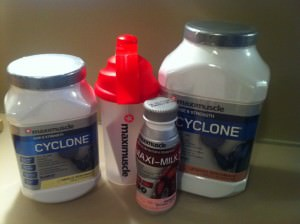 Maxinutrition Cyclone Challenge Paket