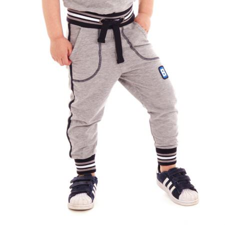 lowpants-rudi-grey-melee-jogginghosen