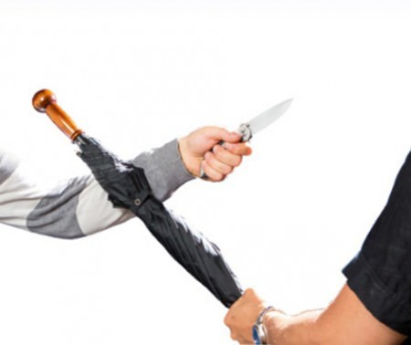 selbstverteidigungsschirm