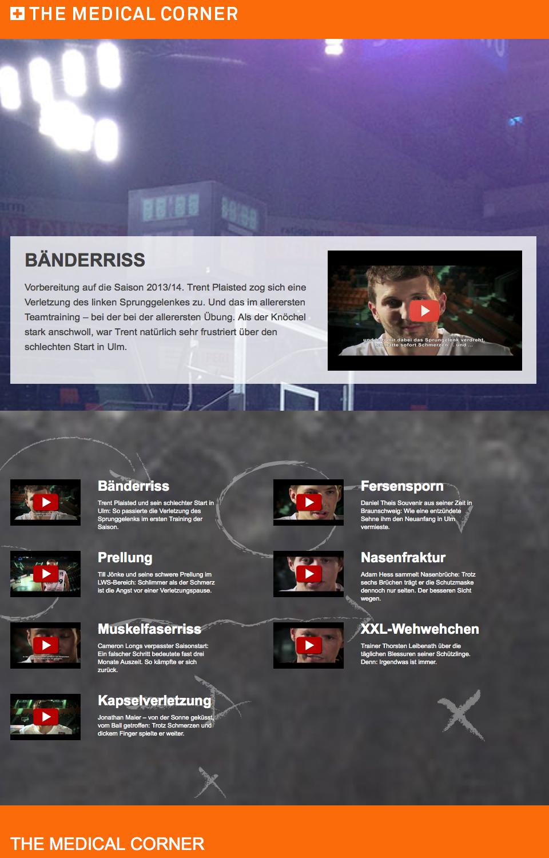 The Medical Corner Homepage