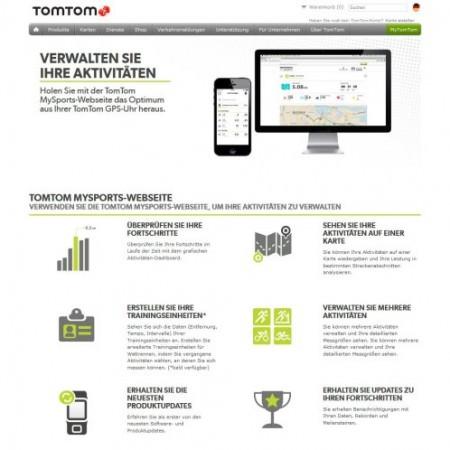 Screenshot tomtom Foto Screenshot TomTom.com