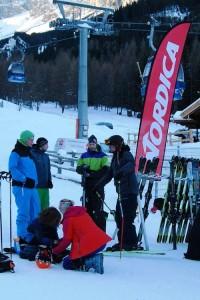 Ski-Tester beim Nordica Event | Foto: Andreas Kleber