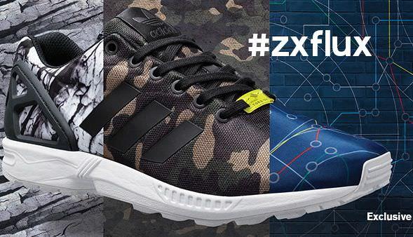 Adidas Zx Flux Camouflage Herren