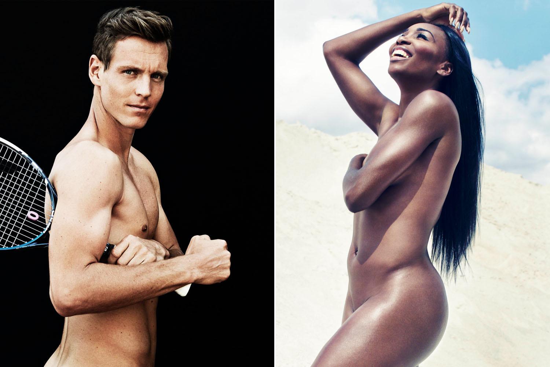 Venus nackt Williams Serena Williams