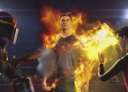 Cristiano Ronaldo Foto Nike