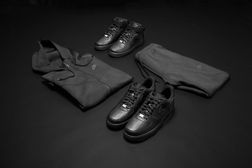 Nike Huarache Triple Black Mens