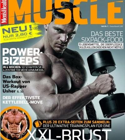 Men's Health Muscle Foto Motor Presse Stuttgart