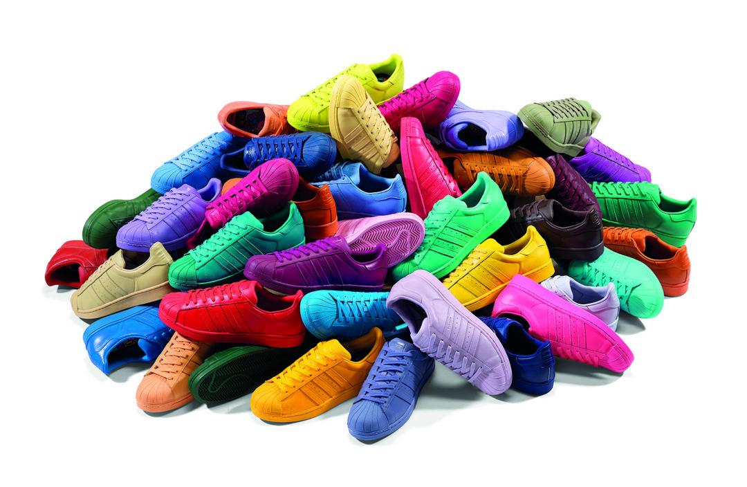 adidas Originals Supercolor Pack: der Superstar in 50 Farben