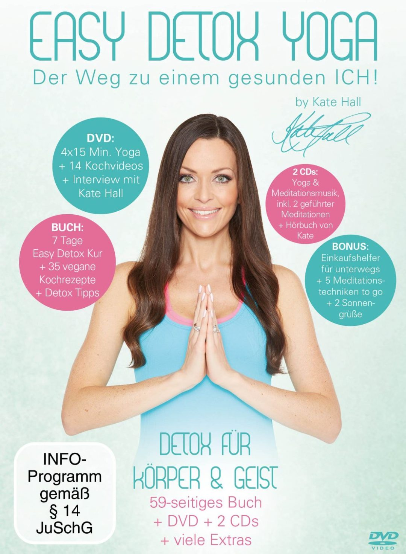 Kate Hall Easy Detox Yoga DVD