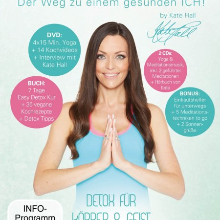 Kate Hall Easy Detox Yoga DVD