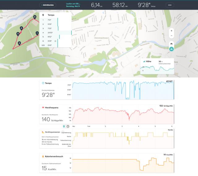 fitbit-surge-running-dashboard-laufergebnis-statistik
