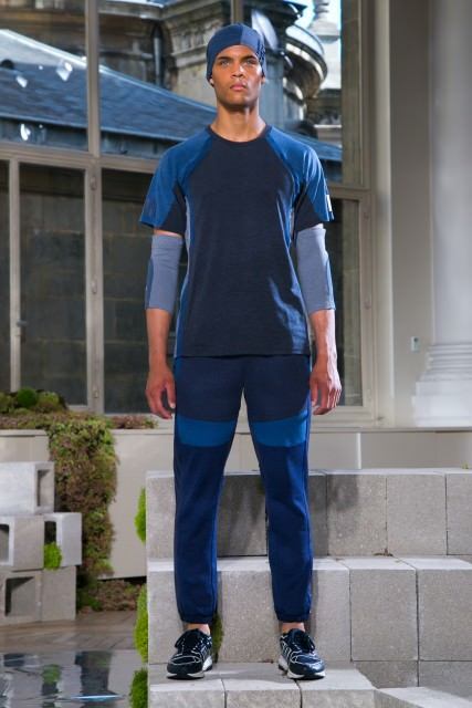 White Mountaineering For Adidas Originals Menswear Spring Summer 2016 Fashion Show in Paris
