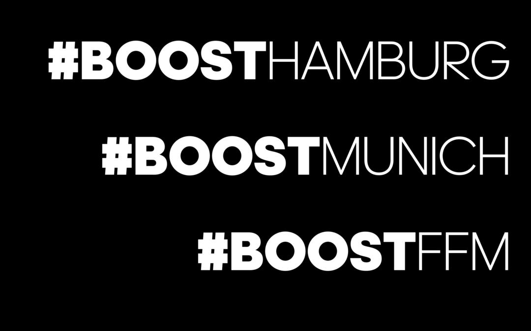 0de2fd7774 adidas Running Network wächst: #boostmunich, #boostffm & #boosthamburg!
