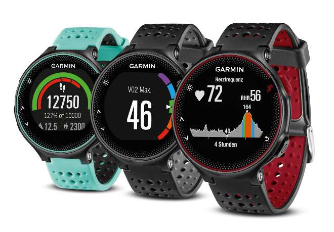 garmin forerunner 235 neue laufuhr mit pulsmessung am. Black Bedroom Furniture Sets. Home Design Ideas