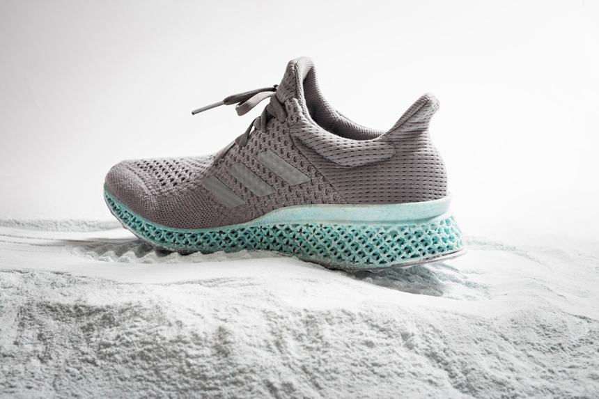 Adidas präsentiert erste 3D gedruckte Sneakers: ALPHAEDGE 4D
