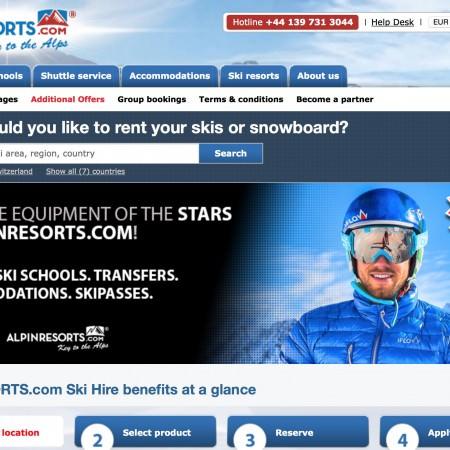 alpinresorts-homepage