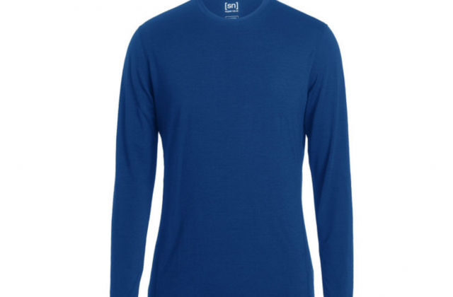 Merino-Langarmshirt-Shirt-super-natural-BASE-LS-175-blau