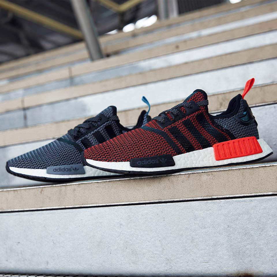 Chaussuer Hommes Adidas Originals NMD Runner Prim Black/Red