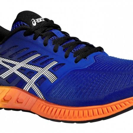 asics-fusex-blue-orange-blau-running-shoe