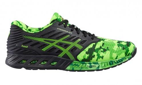 asics fusex stockholm marathon running shoe sports. Black Bedroom Furniture Sets. Home Design Ideas
