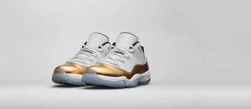 nike-air-jordan-11-retro-low-white-metallic-gold-sneakers-seite