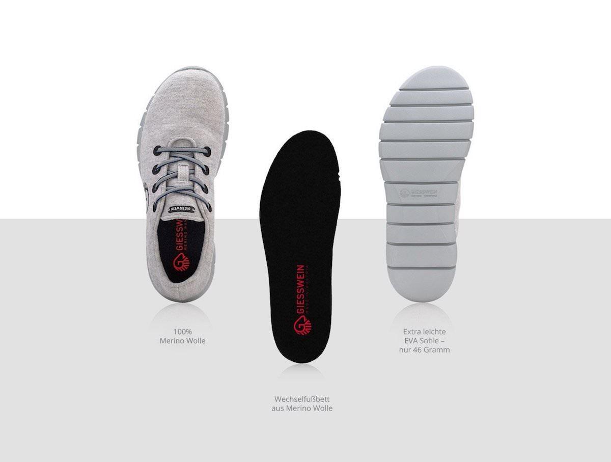 Giesswein Merino Runner dunkelblau Sneaker Damen