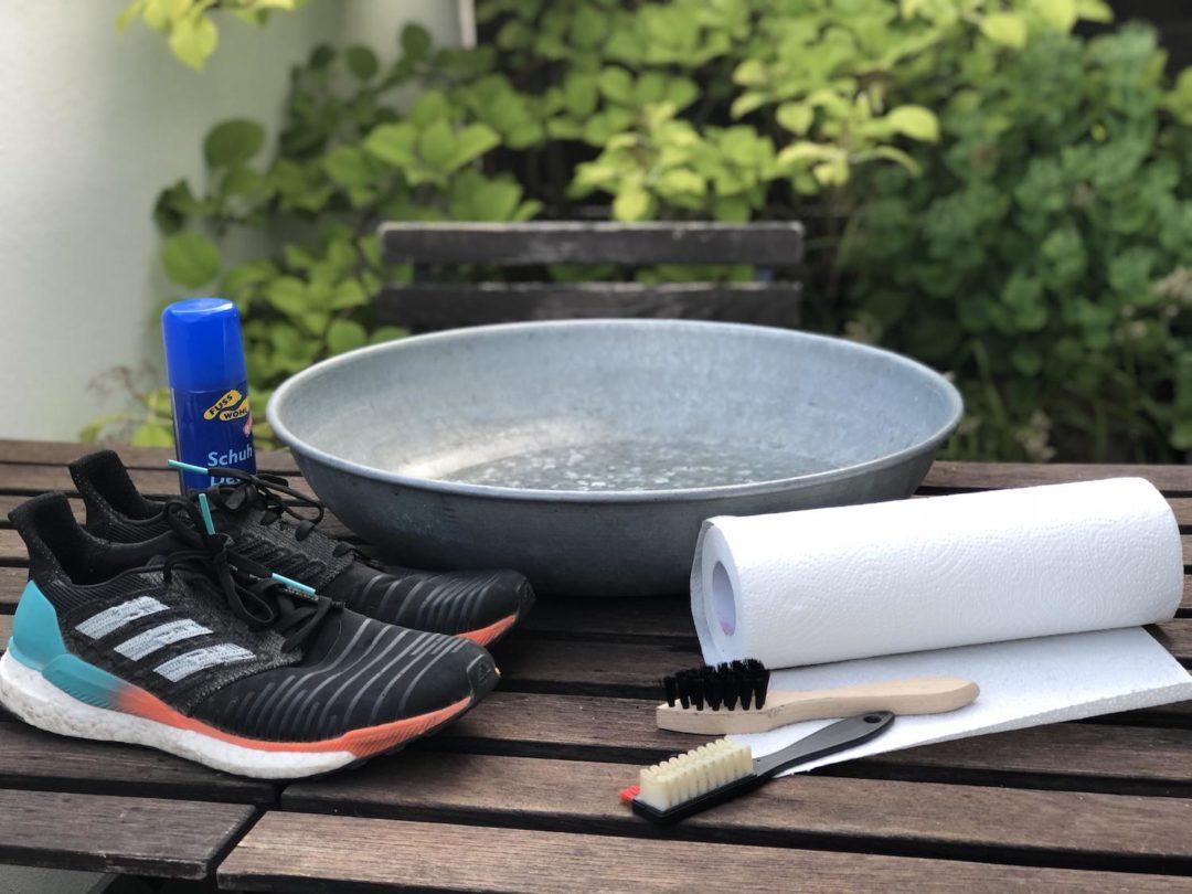Wie richtig Laufschuhe waschen und putzen? 5 Tipps vom