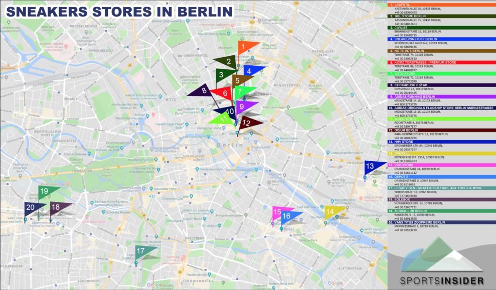 san francisco a153a 0ec65 Sneaker Shops in Berlin: Top 20 Läden, Stores und Outlets ...