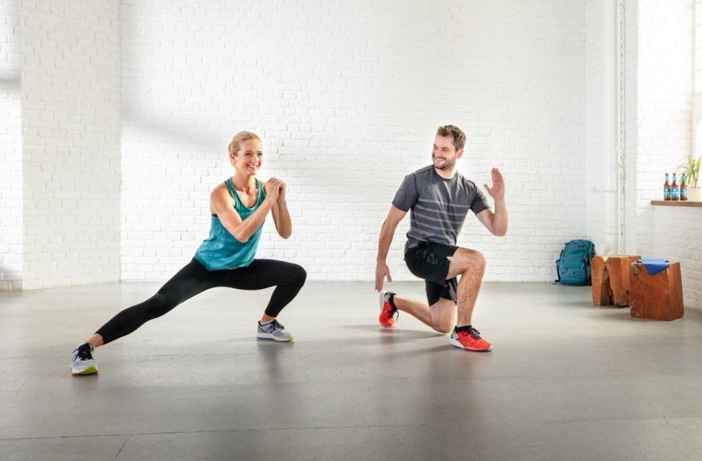 Bizeps Brust Pers/önlicher Fitnesstrainer f/ür zuhause Ges/ä/ß Karten mit Eigengewicht/übungen Frei/übungen gesamter Oberk/örper Beine Bauch