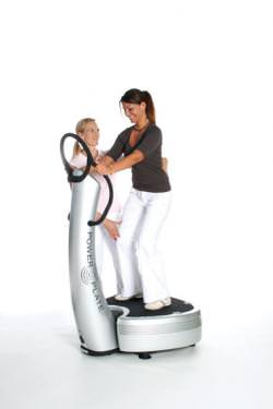 Personal Training auf der Power Plate