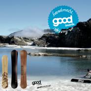 Handmade Snowboarding mit goodboards