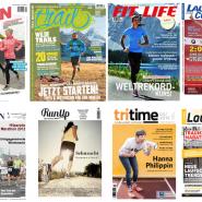 Laufmagazine: Die 12 besten Zeitschriften für Laufen, Marathon, Trail Running, Triathlon und Laufsport