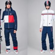 Tommy Hilfiger x Rossignol Skikollektion mit Männer Skibekleidung