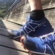 Salomon Speedcross 4 im Test beim Trailrunning in den Dolomiten