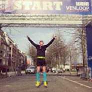 Venloop Halbmarathon. Erfahrungen von der Strecke als Teilnehmer