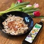 Insect-Pasta aus Insektenprotein im Test. Wie schmeckt die Nahrung aus Insekten?