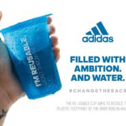 Marathon Becher: adidas testet Soft Cup für Wasser beim Berlin-Marathon