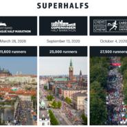 SuperHalfs - 5 Halbmarathons in Europa in neuer Rennserie vereint