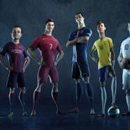 Nike schickt animierte Fußball-Stars in ein episches Spiel
