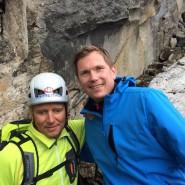 Blind Bergsteigen mit Andy Holzer und Dachstein